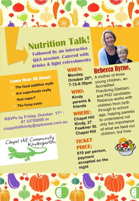 Nutri Talk Flyer