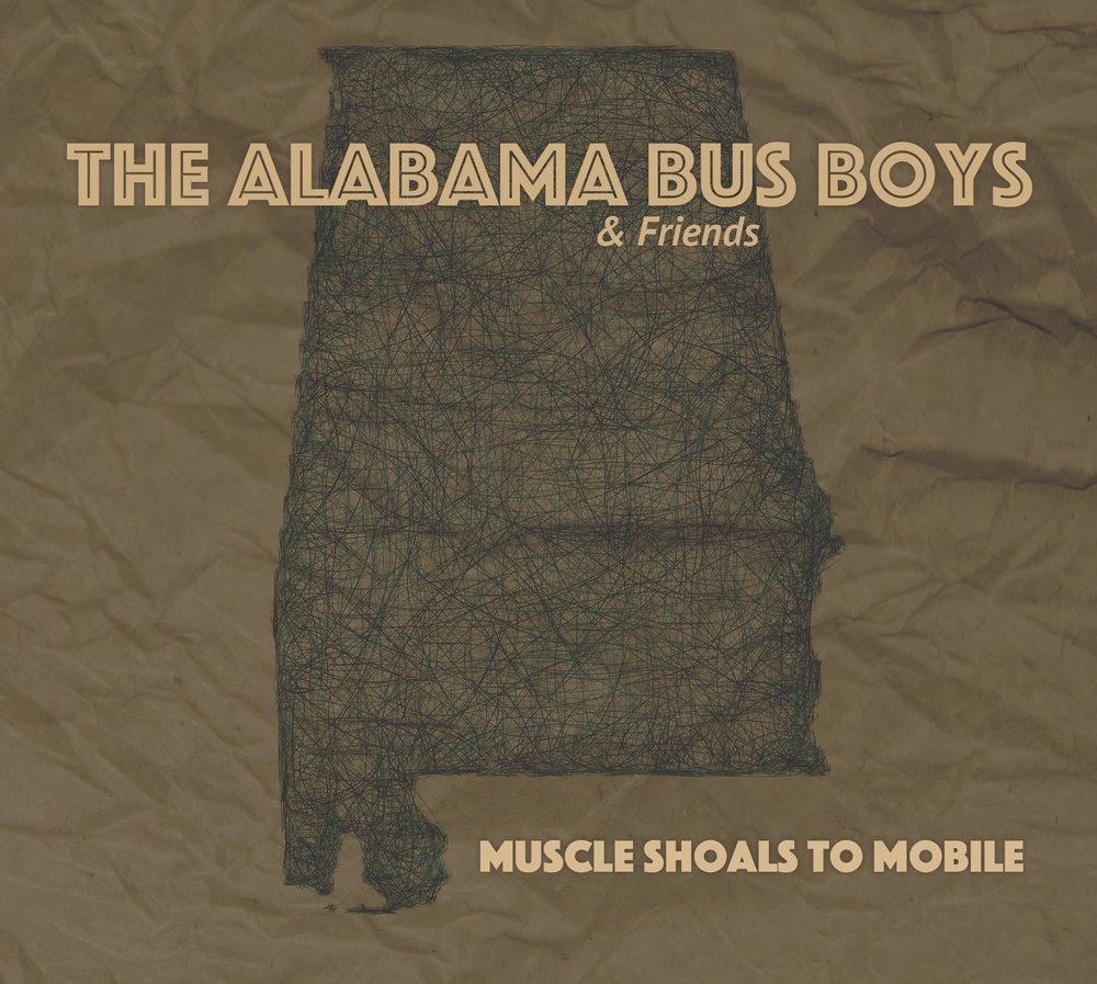 The Alabama Bus Boys | Muscle Shoals to Mobile   The Alabama Bus Boys consist of Mitch Mann, Mark Narmore, Jimmy Nutt and Andreas Werner and were formed in 2016 for a series of events promoting the music of the Sate of Alabama. This live album was recorded at the NuttHouse in Muscle Shoals and features acoustic renditions of songs either by Alabama born artists or originally recorded in Alabama. Wet Willie's Jimmy Hall, Scott Boyer and Donnie Fritts are featured guests on the album.