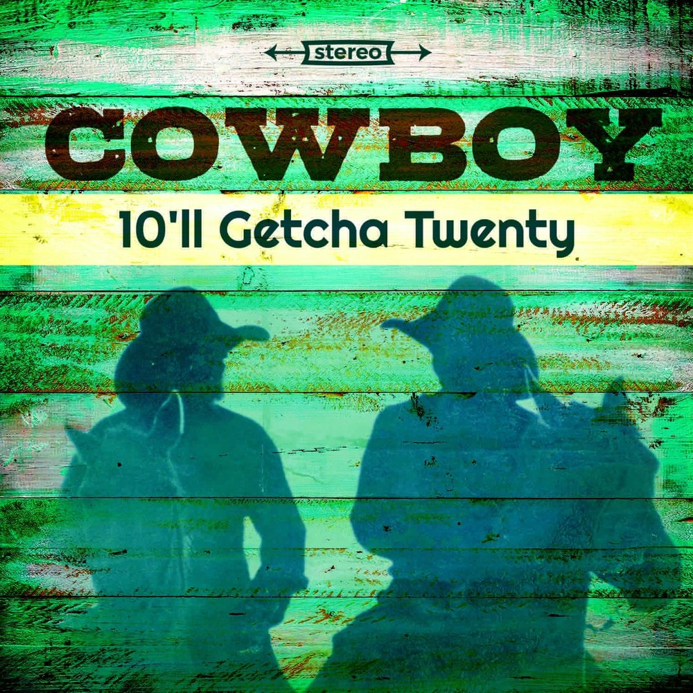 Cowboy | 10'll Getcha Twenty    10'll Getcha Twenty , the long awaited reunion album by Capricorn recording artists Cowboy features all six original members on half of the tracks and Laid Back era members Randall Bramblett and Bill Stewart along with David Hood of the Muscle Shoals Rhythm Section on the other half. The album was produced by their original producer Johnny Sandlin. It will be released on vinyl on 11/23/18 as a Record Store Day Black Friday exclusive release. Call your local record store to make sure they'll have it in stock. More info  HERE .