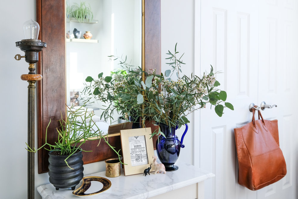 The Winnie Round Black Planter has popped up on several roundups already because it is currently one of my all-time favorite pieces in my home!