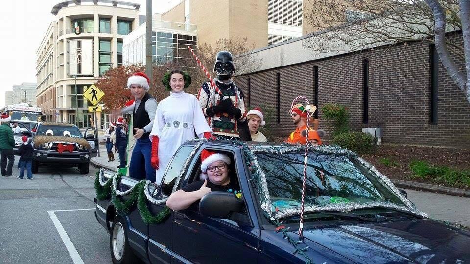 Star Wars Holiday Parade