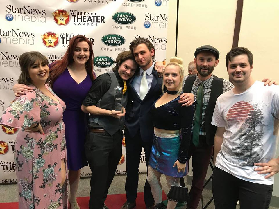 PSL takes home top prize at 2018 Theater Awards! - We are so incredibly proud and humbled to be the recipients of this year's Wilmington Theater Award for Best Play, for our 2017 production of Bachelorette! This was an incredible roster of nominees, including exceptional productions from Dram Tree Shakespeare, THCPA Cube, and the UNCW Theater Department, and we were honored to even be nominated amongst such talented organizations!Thank you to all our cast and crew for making that show one for the history books, and a huge THANK YOU to everyone who came out and supported the show! We know that there is a lot of incredible theater in this town, and we are proud to consider ourselves part of it! Onward and upward!