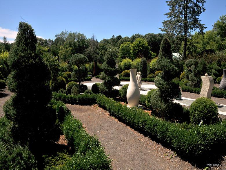 Jardin contemporain français
