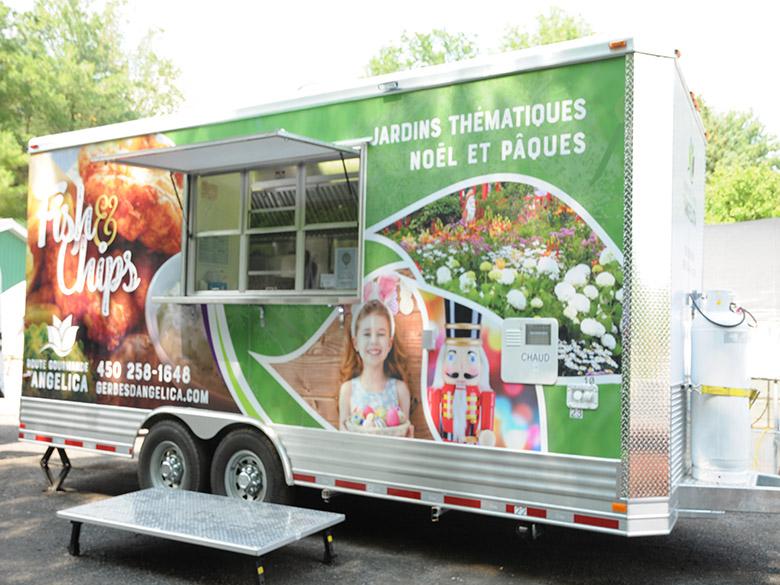 Le camion/cuisine de rue (foodtruck)