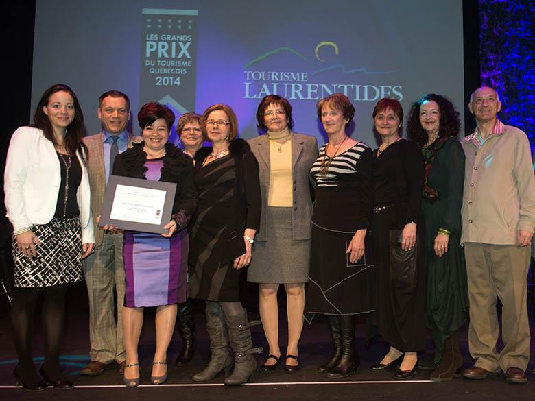 RGA a gagné le prix québécois du tourisme (Laurentides) en 2012, 2013 et 2014, entre autres prix.