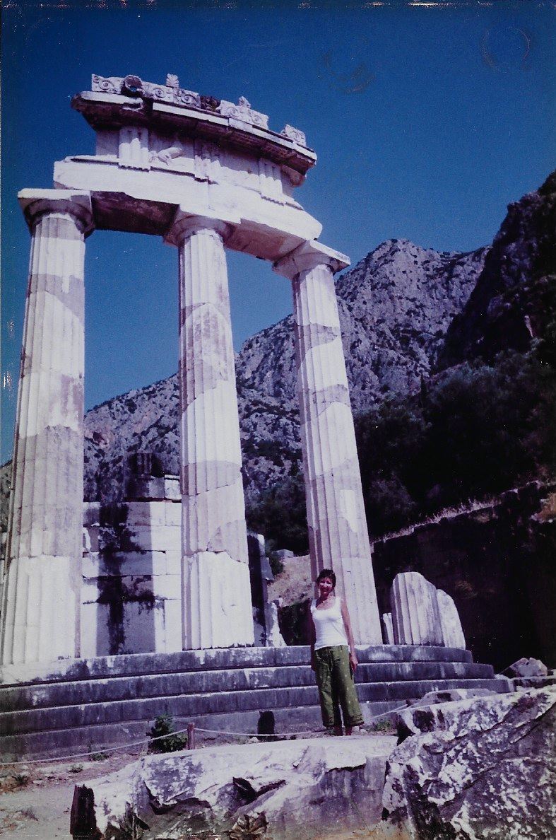 Temple of Athena, Delphi, Greece