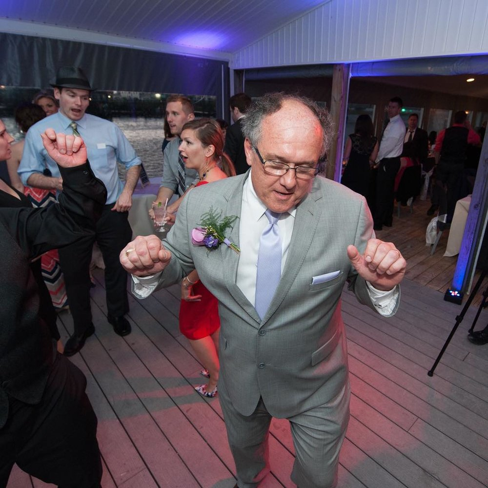 Nittany Entertainment Groom Father Dancing