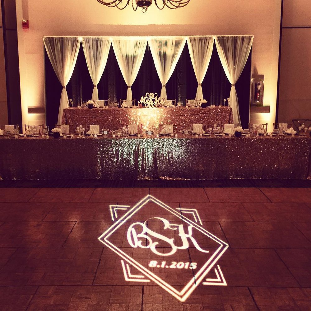 Dance Floor Monogram