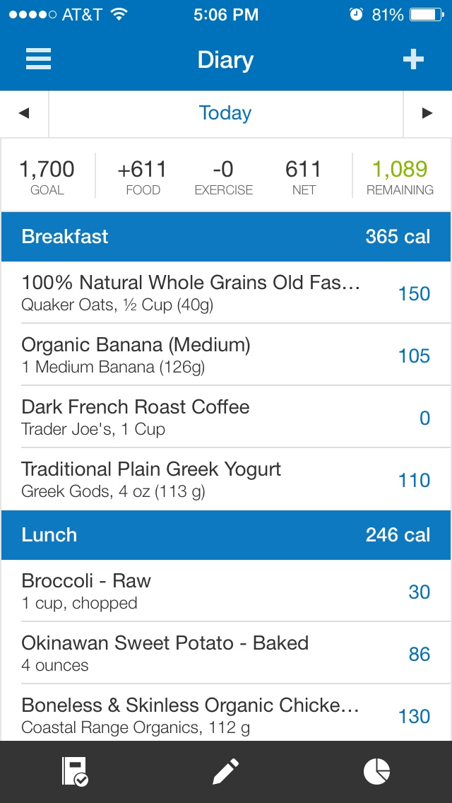 How to start a food journal - Myfitnesspal Ap
