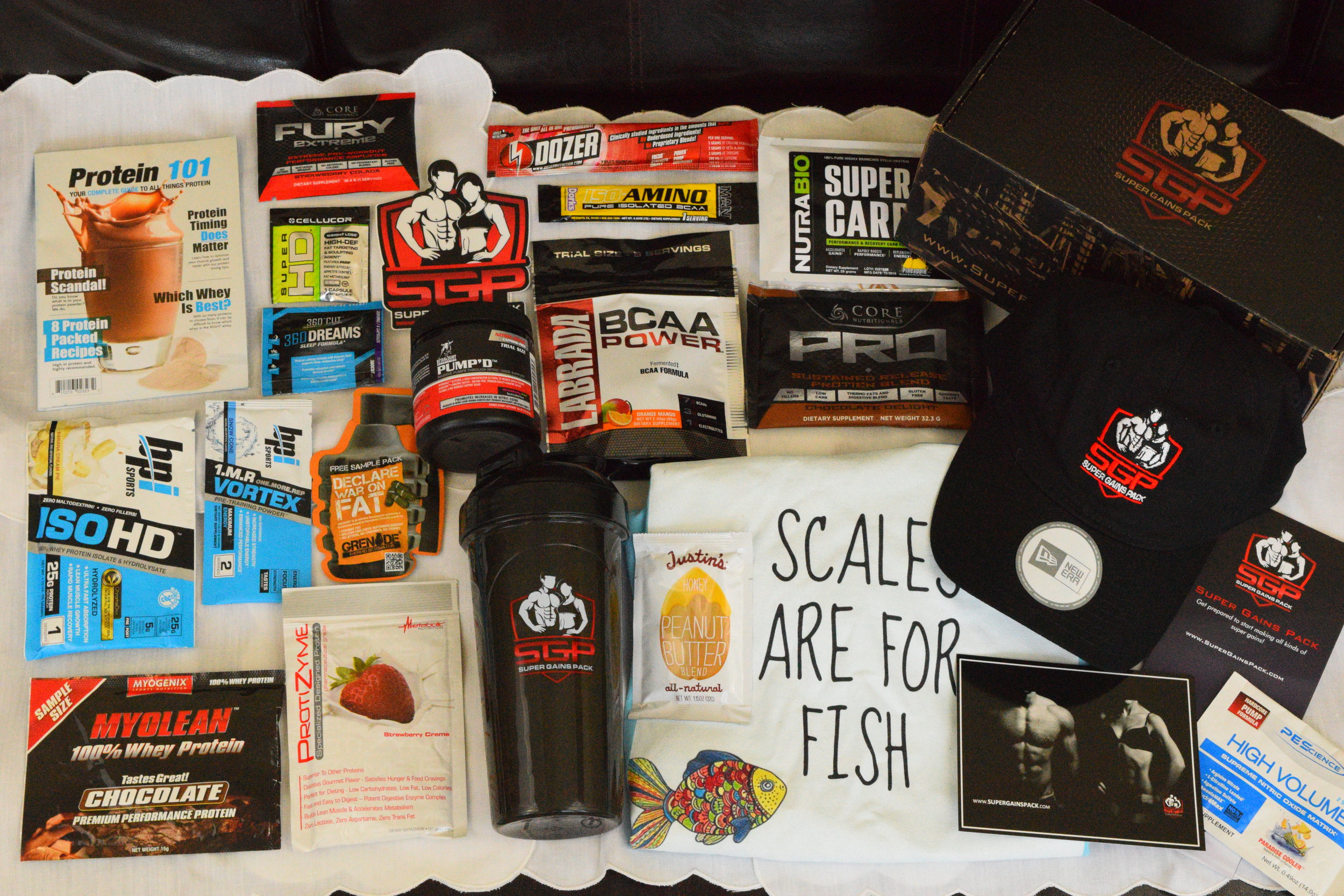 Super Gains Pack first box January 2016