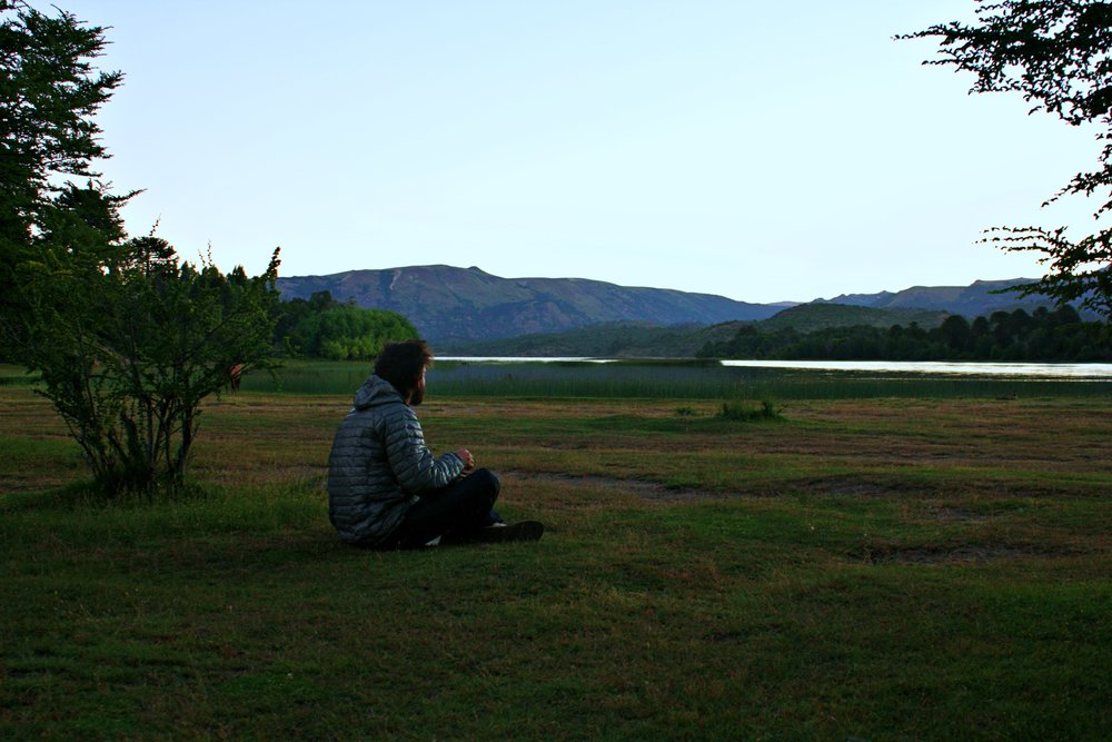 Argentina/Chile: Neuquen to San Martin De Los Andes — backpacks over