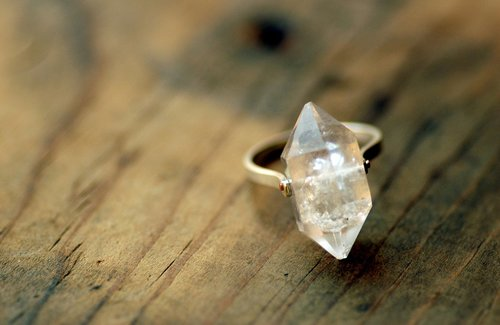 Herkimer diamond ring natural quartz clear crystal ring herkimer diamond ring natural quartz clear crystal ring sterling silver ring junglespirit Images