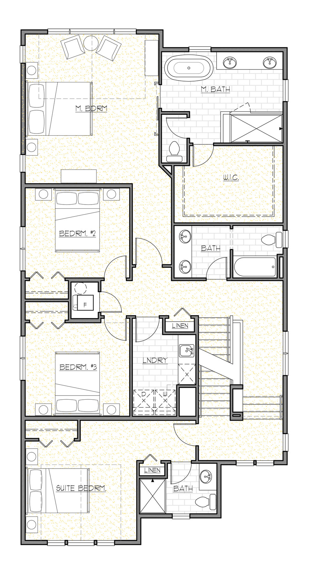 Upper Floor Plan