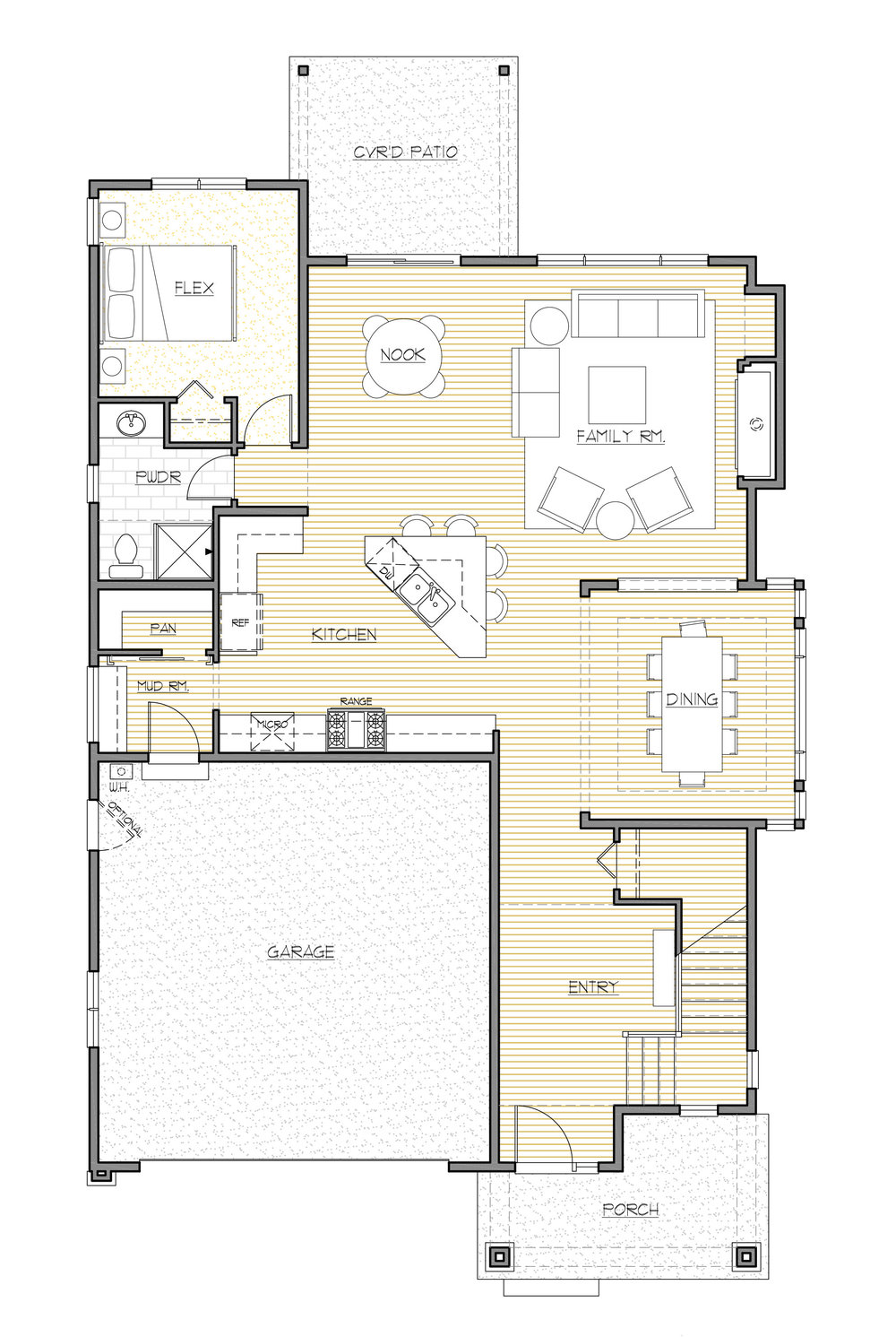 Copy of Main Floor Plan