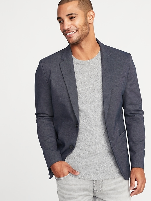 Perfect! Jacket on or off, you look great. © Old Navy