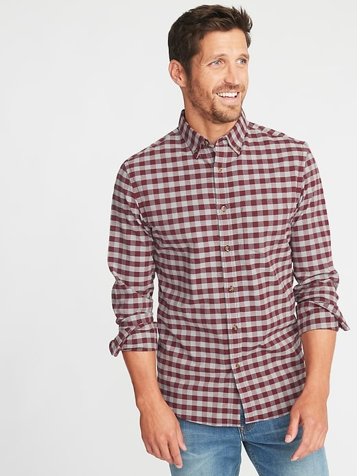 Pattern is too much by your face. © Old Navy