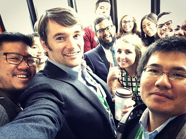 Our lab lunch w/ Prof. Warren Chan in Atlanta.