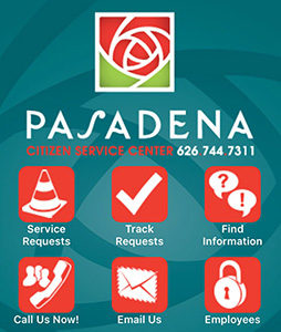 Pasadena Citizen Service Center Phone App