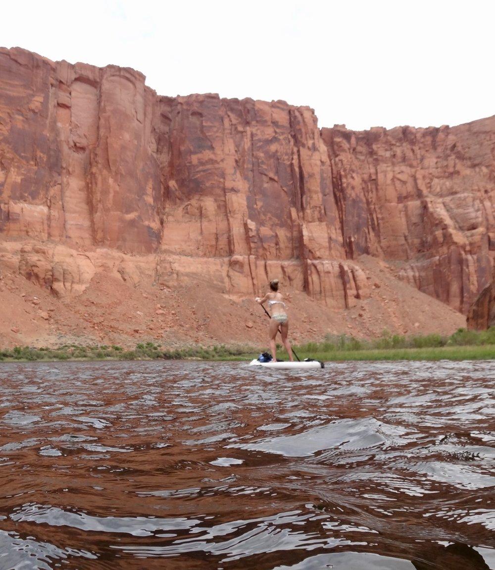 Paddling the Colorado River