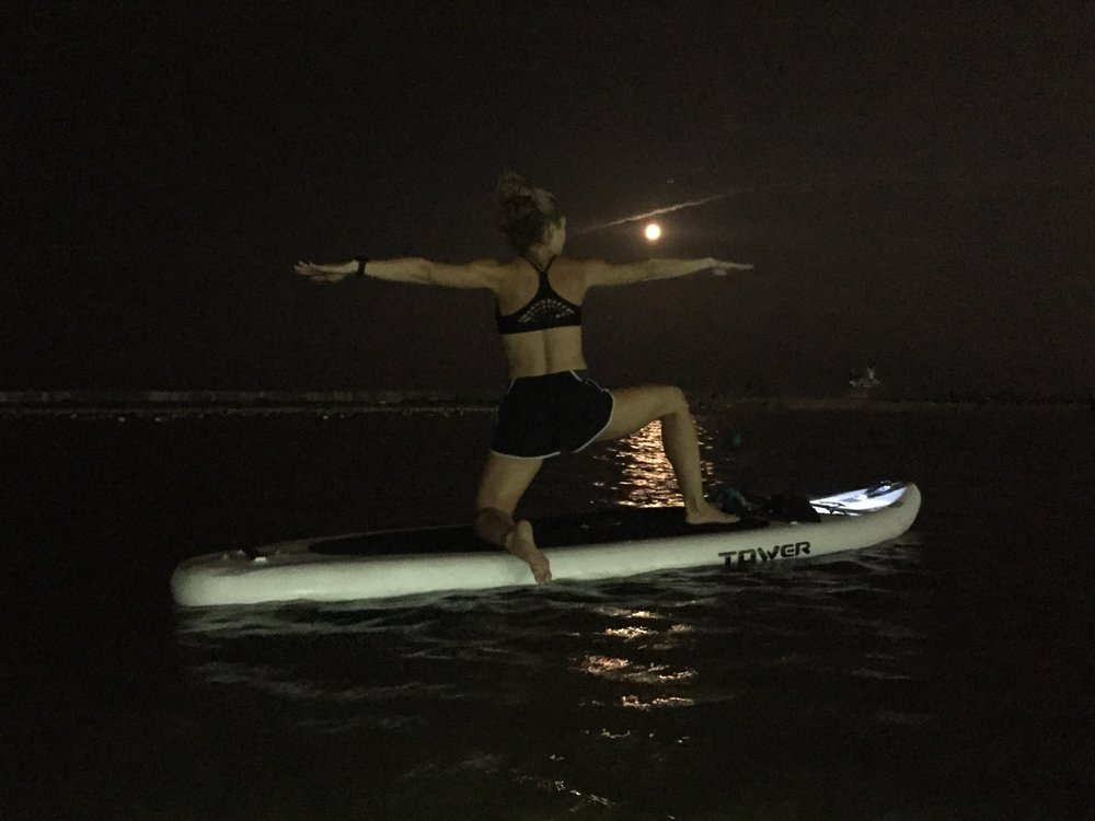 Full Moon SUP Yoga with Chicago SUP