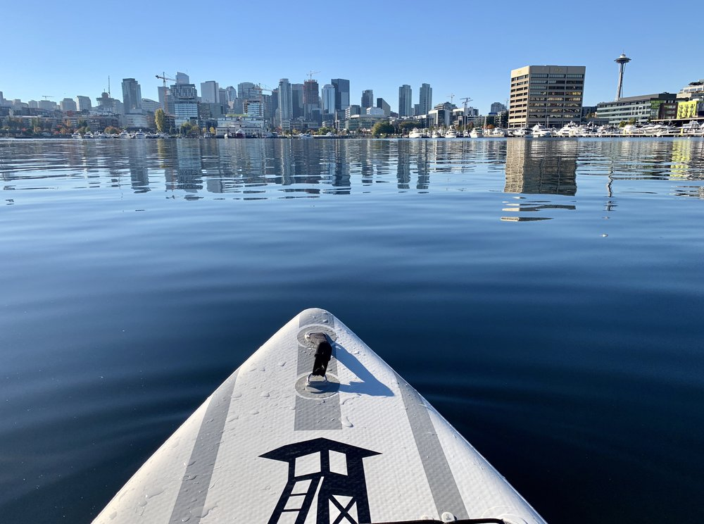 Calm waters on Lake Union