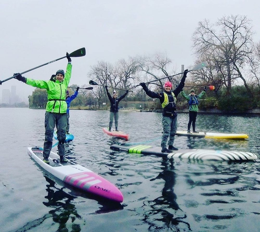Showing off our winter gear!  Photo courtesy of Kirsten Lefeldt