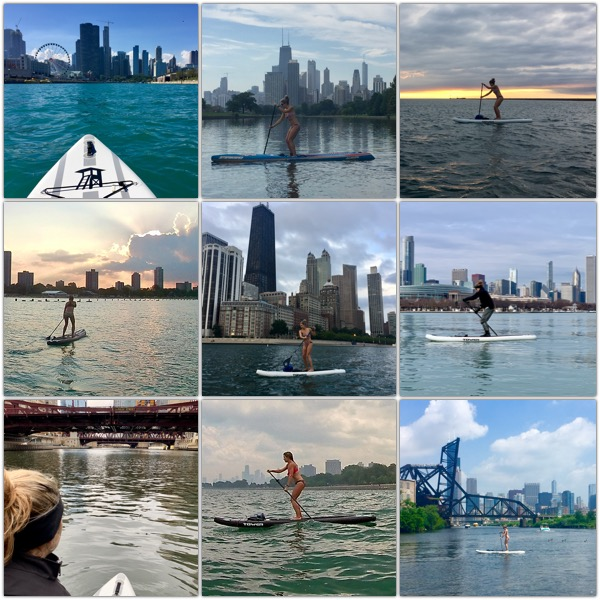 Top nine SUP Chicago pictures