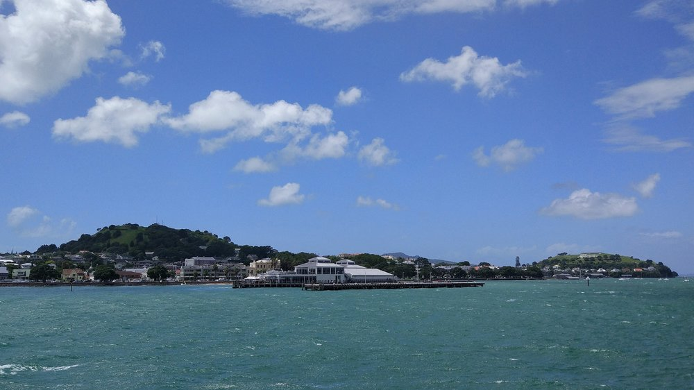 Devonport with Mt. Victoria (left) and North Head (right)