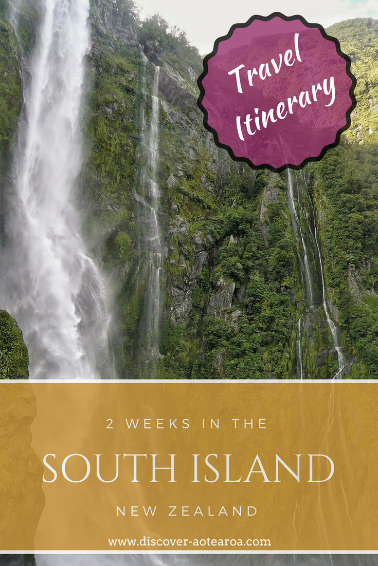 2 weeks in the South Island New Zealand - travel itinerary