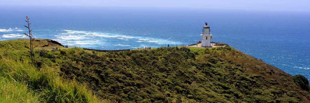 Spiritual Cape Reinga at the northern tip of New Zealand