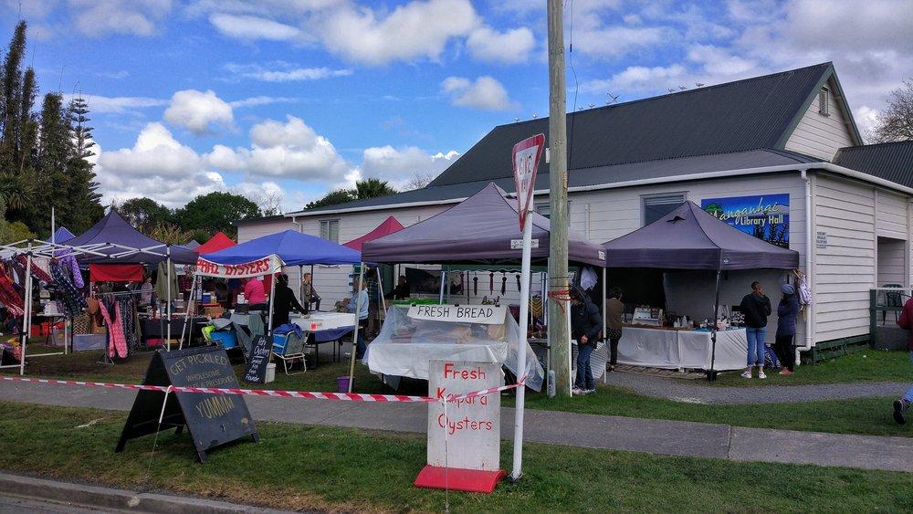 Mangawhai Saturday market