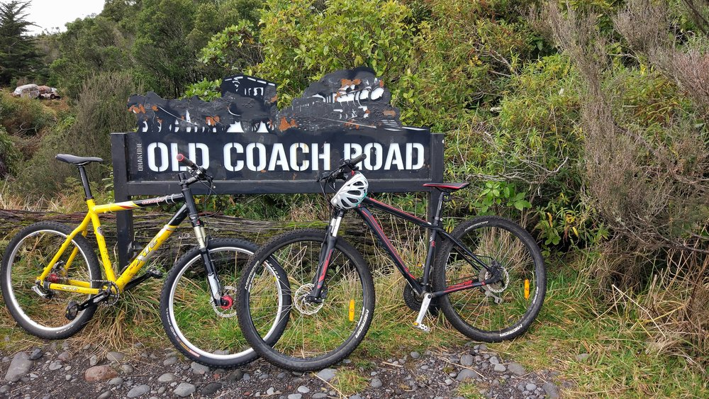Start of the Old Coach Road Ohakune