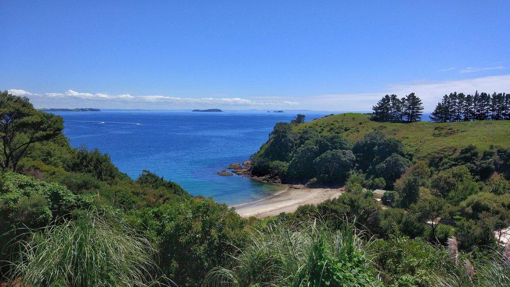 Waiheke island also has great swimming beaches