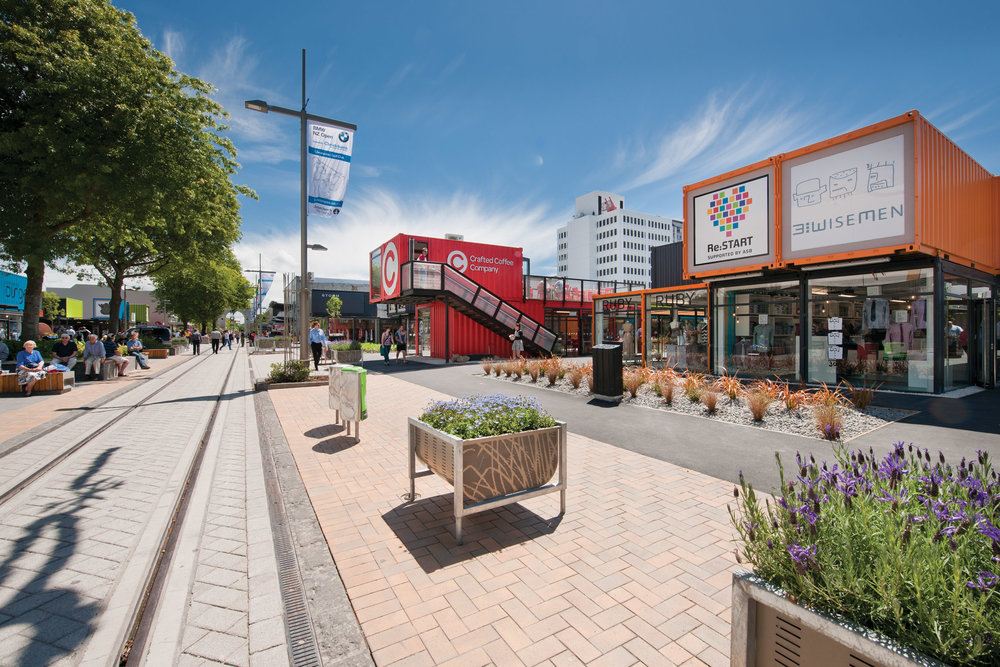 In October 2011, the Re:Start Container Mall opened as a temporary solution to start to bring some life back into the CBD which became an international symbol of post-quake Christchurch innovation which lasted five-and-a-half-years... -