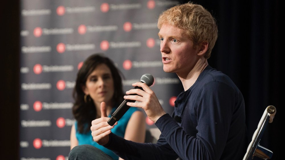 Patrick Collison, CEO & Co-Founder of Stripe. Photo by Erin Beach.