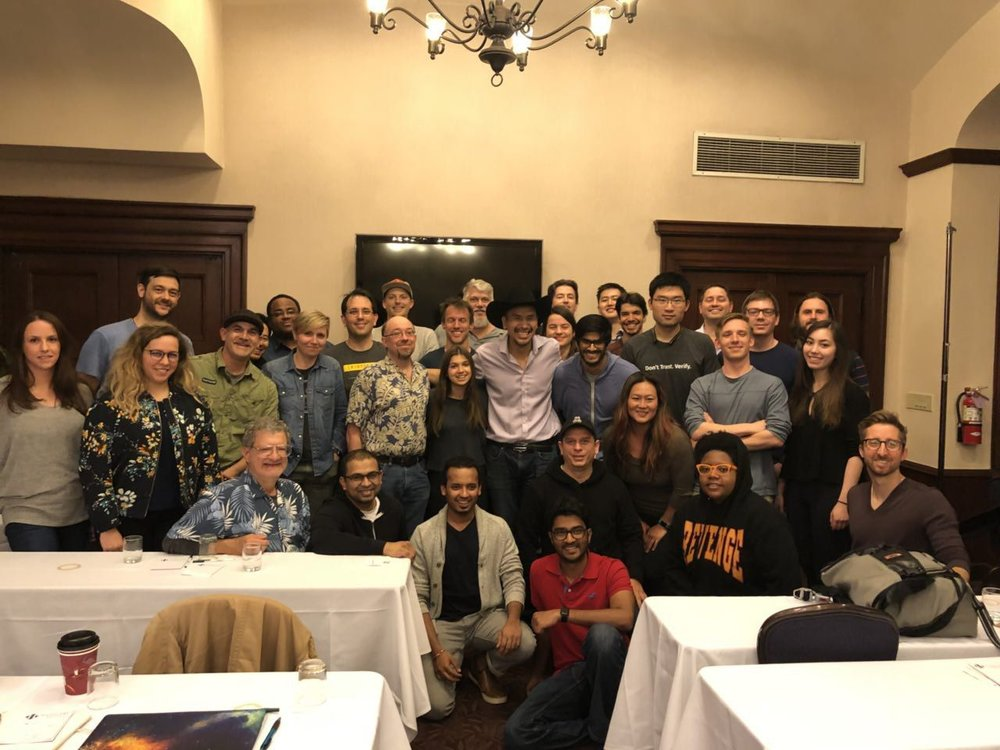 Official graduates of the San Francisco April 2018 Cohort