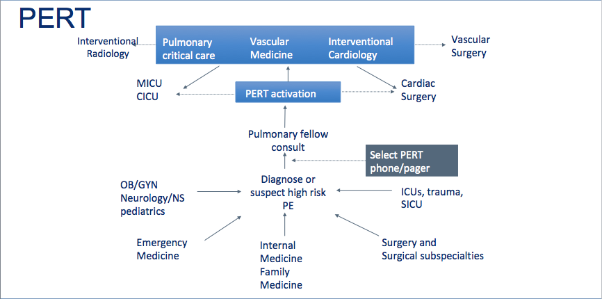 University Hospitals System PERT Algorithm
