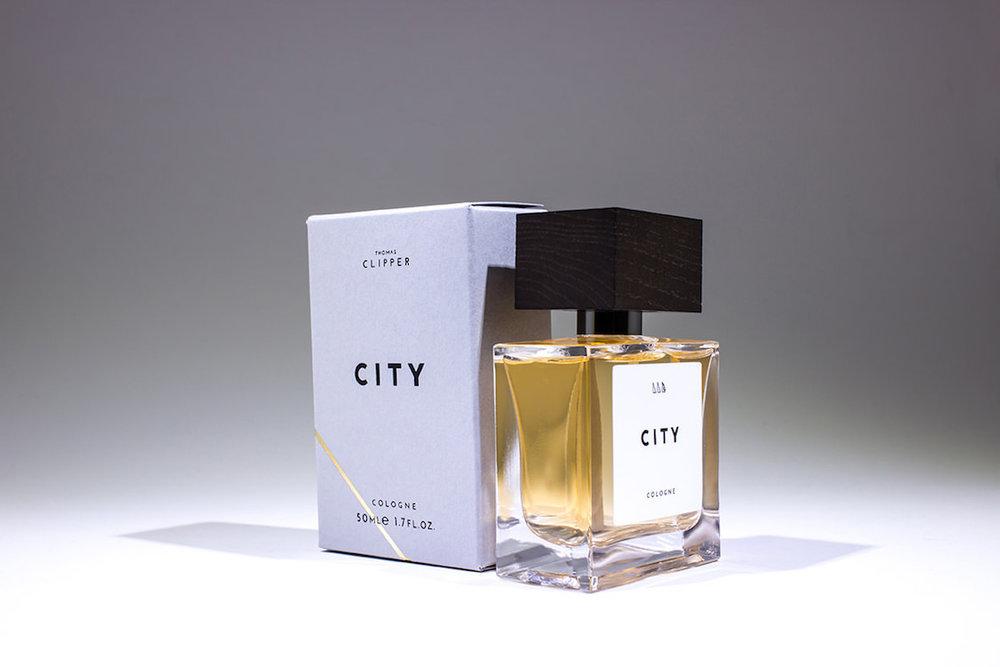 City eau de toilette from the premium cologne collection Unite by Thomas Clipper