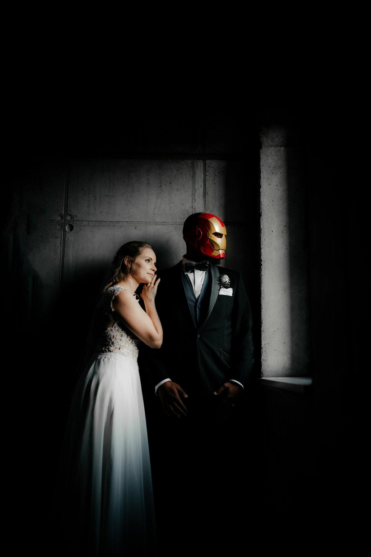 Fleet3: Iron Man Hochzeit in Finkenwerder - Marnie & Nico