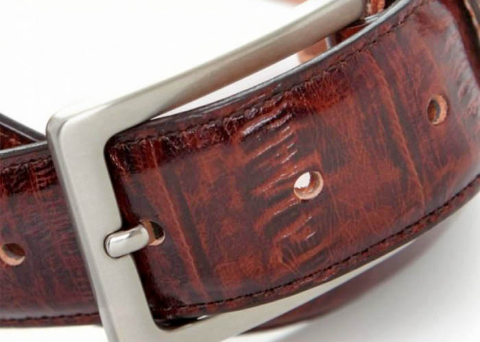 EXOTIC BELTS - 6512 brown