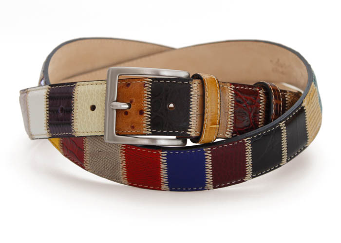 PATCHWORK BELTS - 1587 multicolour