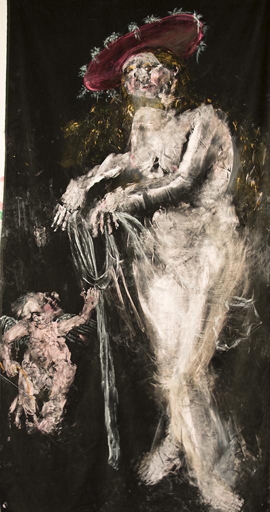 Venus and Cupid (after Cranach)