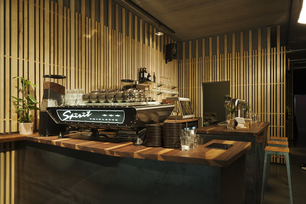 R/D Silicon Allee - Berlin, Germany – The flagship R/D coffee bar, serving coffee, beer and wifi to Berlin's tech crowd from early 'til late. Opened in 2017.
