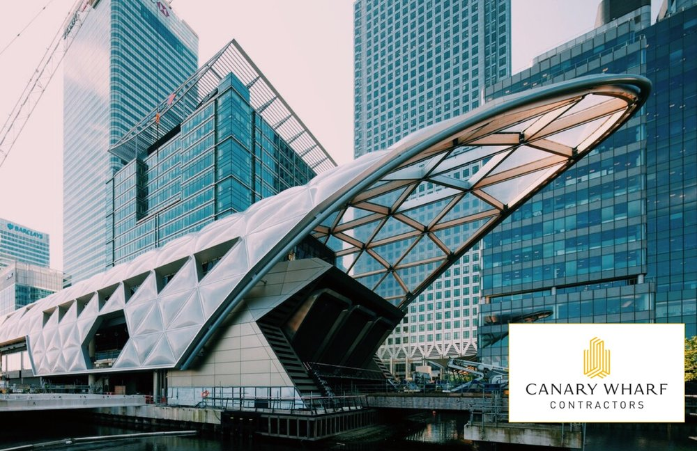 Canary Wharf Crossrail Aluminium repair and respraying works by Remclad.jpg