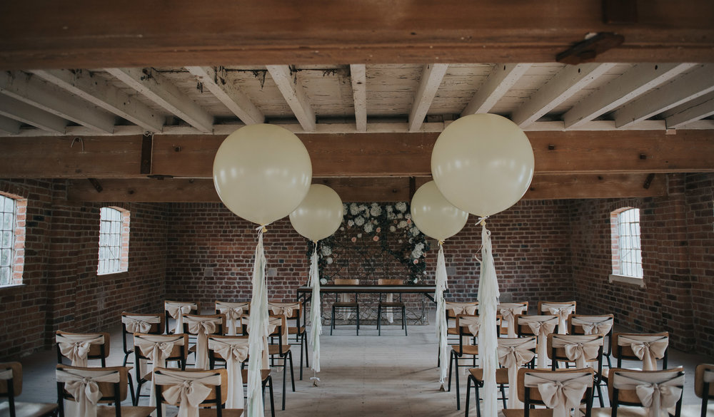 Industrial styled wedding venue Derby
