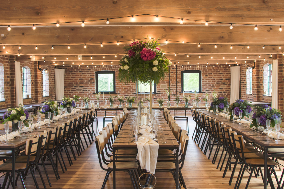Industrial Styled wedding venue