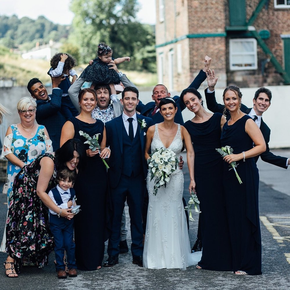 Industrial mill wedding venue Derbyshire
