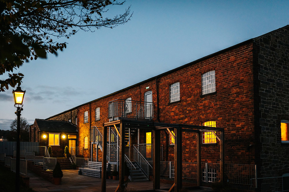 """- """"We just had our wedding reception at the Haarlem mill and could not recommend them more. The staff were friendly and helpful, the owners of the venue throughout were lovely. The day ran so smoothly thanks to them, we didn't worry about a thing. Our guests have told us how amazing the food was and how beautiful the building was! Thank you for having us!""""Toby & Rebecca1st December 2018"""