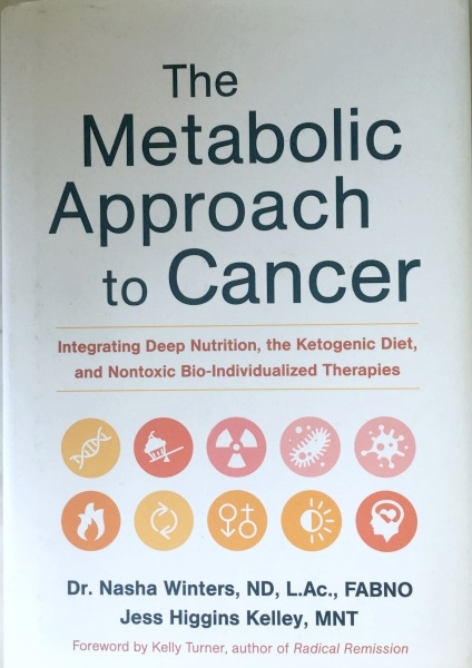 The Metabolic Approach to Cancer  - by Dr. Nasha Winter and Jess Higgins KelleyFull disclosure: I am a client of Dr. Winters, so again I fully believe in this approach because it worked for me. This is research-based approach to cancer that's gaining traction in the cancer world. The principal is that cancer is not caused by genetics but rather by lifestyle factors that trigger the mitochondria in our cells to stop fighting the cancer. I find the book a bit dense with all the science, but I believe this approach will be the game changer in how cancer will be fought in 50 years.