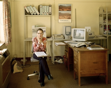 Municipal Officials Elize Klaaste, Senior Clerk, Loeriesfontein, Northern Cape., 2004
